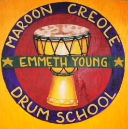 Creole drum school logo