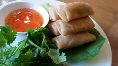 Spring Rolls at Bao Stir-Fry