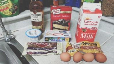 Butterscotch Rum Pound Cake's Ingredients