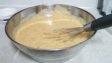 Butterscotch Rum Pound Cake's Mixture