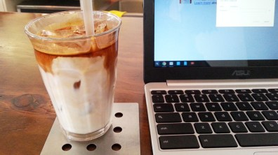 Iced Latte at Chansbros Coffee