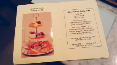 Afternoon Tea Menu at Good Afternoon