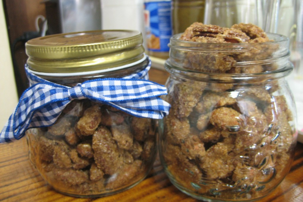 Candied Spiced Nuts Featured Image