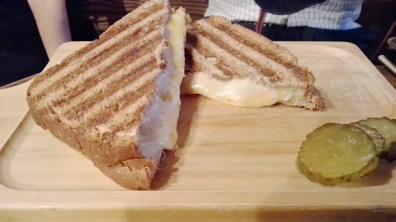 Grilled Cheese Panini at Made in Pongdang