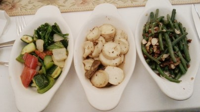 Various Side Dishes at Sables