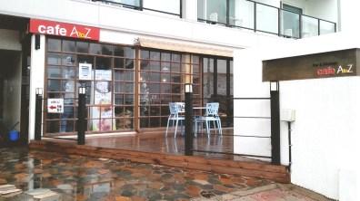Cafe A to Z's Exterior