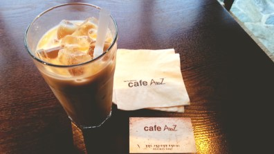 Iced Vanilla Latte at Cafe A to Z