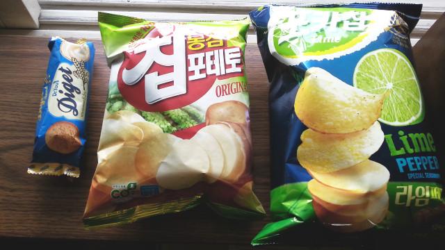 Korean Snack Stash Vol. 1