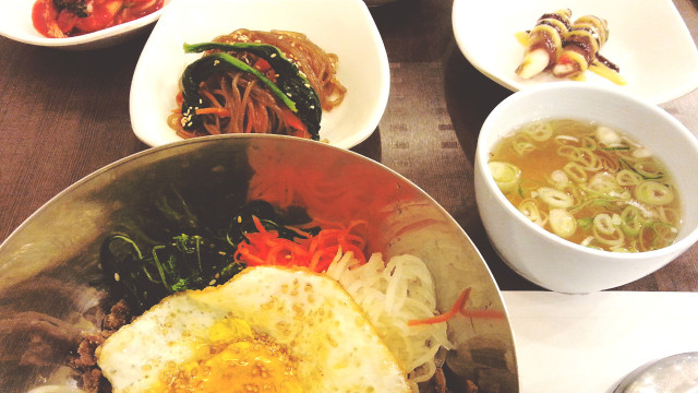 Bibimbap Meal at Korea Palace