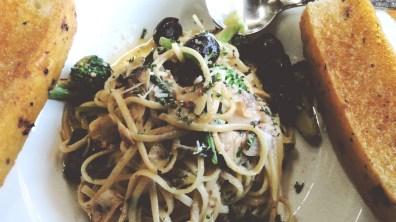 Linguini Alla Siciliana at Greenstreet