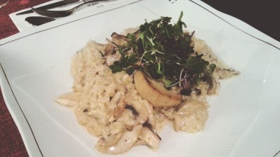 Risotto ai Funghi at Cafe Bellini