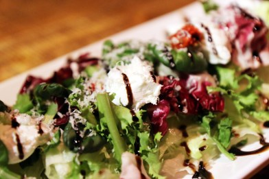 Green Salad at The Vault (Photo Credit: The Vault)