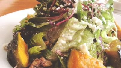 Grilled Squash Salad at Greenstreet