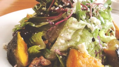 Grilled Squash Salad at Greenstreet