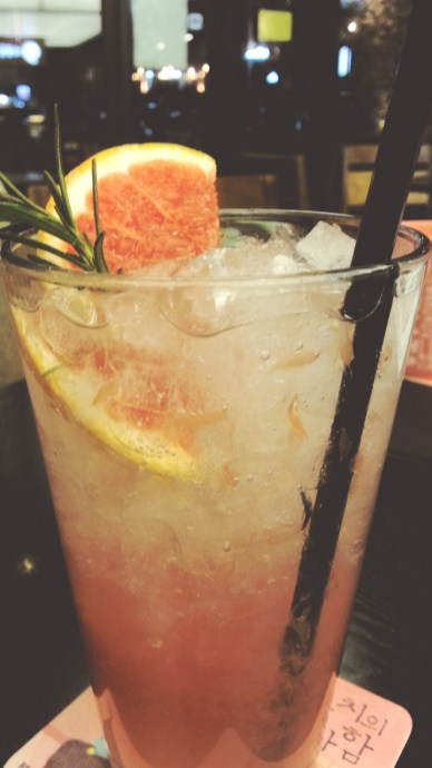 Grapefruit Ade at Cafe Comma