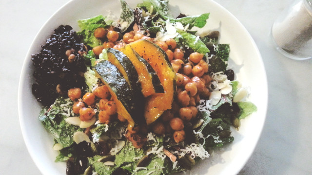 Chipotle Chickpea-Kabocha Salad at Plant