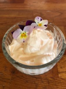 Rhubarb, Rose and Cream