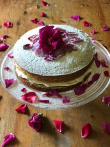 Strawberry Cream Victoria Sandwich