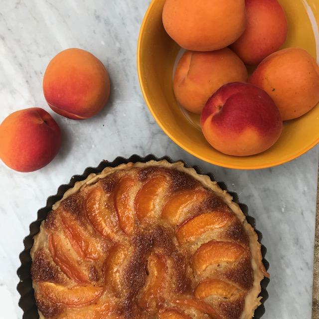 Apricot tart recipe
