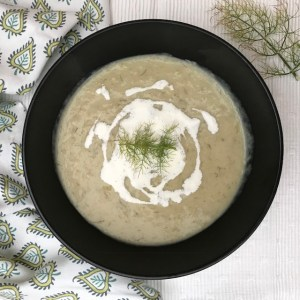 Fennel Soup - vegan or vegetarian