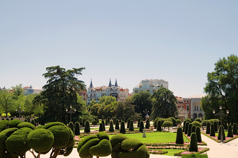 Unterwegs in Madrid: Retiro Park. Tasteboykott.