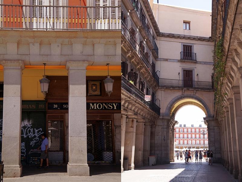 Unterwegs in Madrid: Plaza Mayor. Tasteboykott.