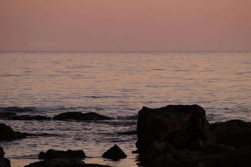Interior-Inspiration von unterwegs: Kroatien Sonnenuntergang. Wohnblog Tasteboykott Wohninspiration.