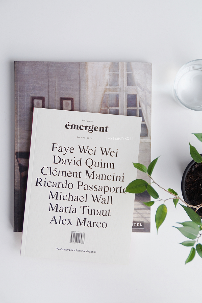 Favoriten im Mai: Emergent Kunstmagazin. Foto Tasteboykott Blog.