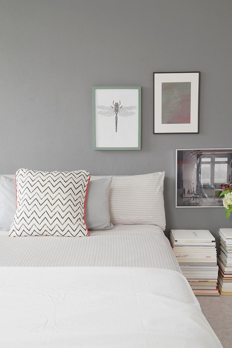 wohnideen schlafzimmer wandfarben, schlafzimmer mit grauer wandfarbe - tasteboykott, Design ideen