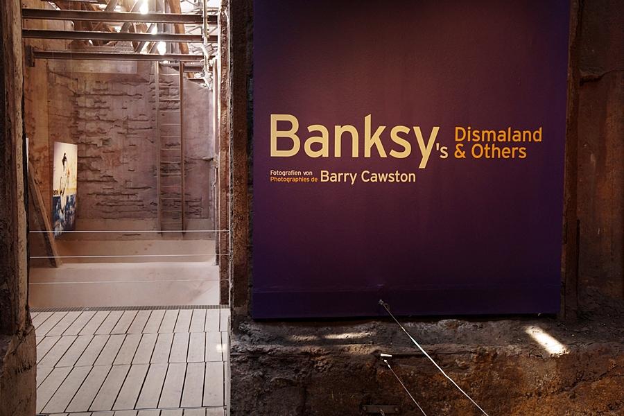 Banksy in der Völklinger Hütte
