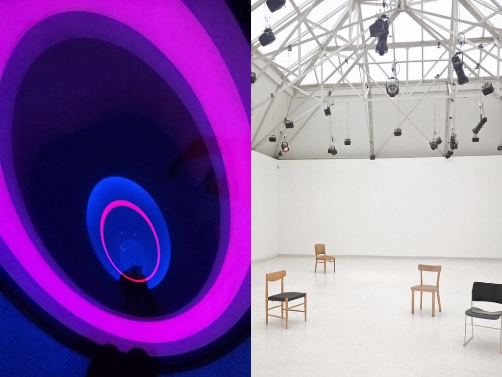 Kunsthalle Bremen: James Turrell und John Cage.