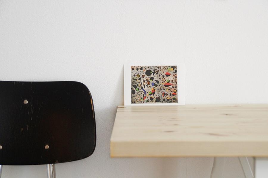 Joan Miro Kunstpostkarte