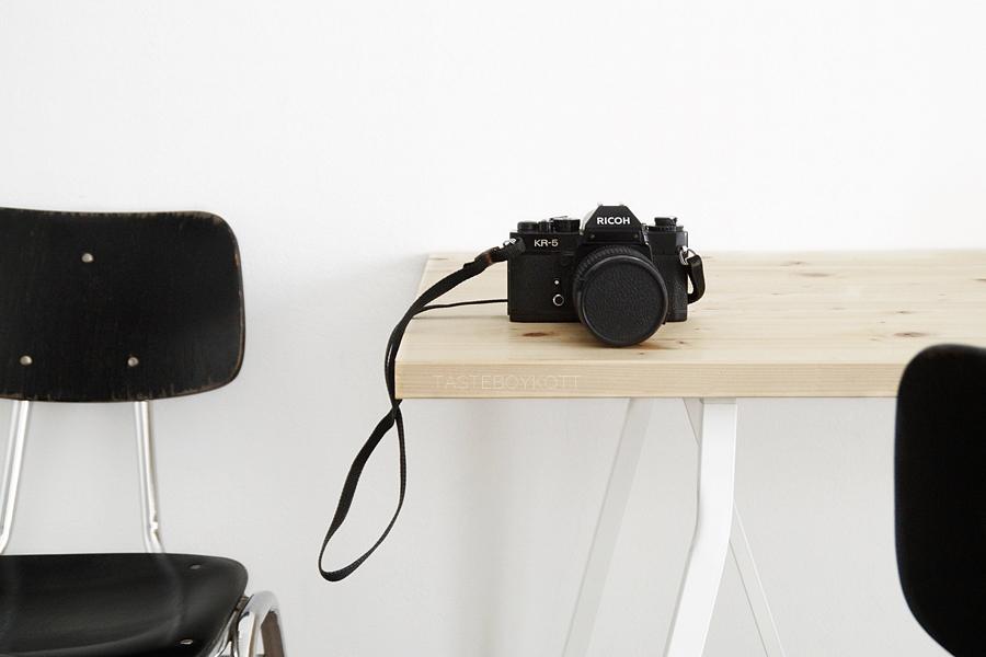 Analoge Kamera von Ricoh: Fotografieren mit Film. Kunst-Update.