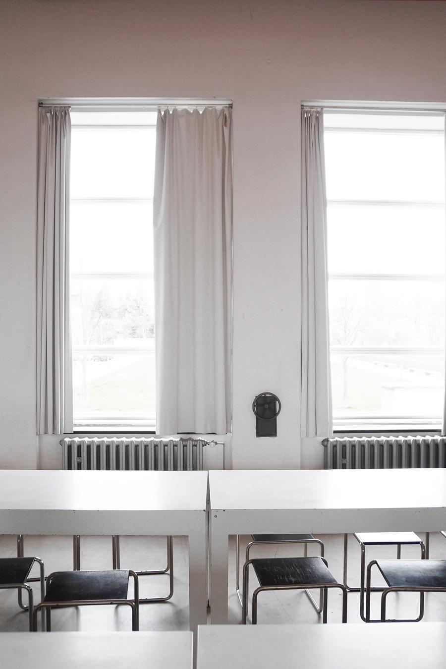 Mensa im Bauhausgebäude. Stiftung Bauhaus Dessau.