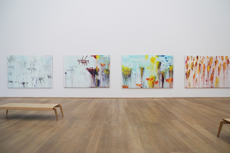 Leopanto-Zyklus von Cy Twombly. Kunst in München: Forever Young – 10 Jahre Museum Brandhorst