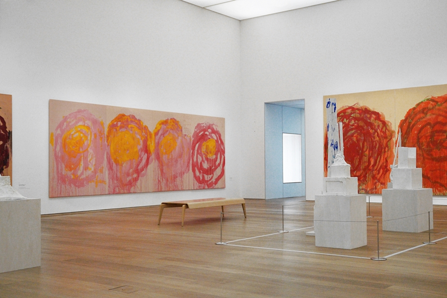 Untitled (Roses). © Cy Twombly Foundation.