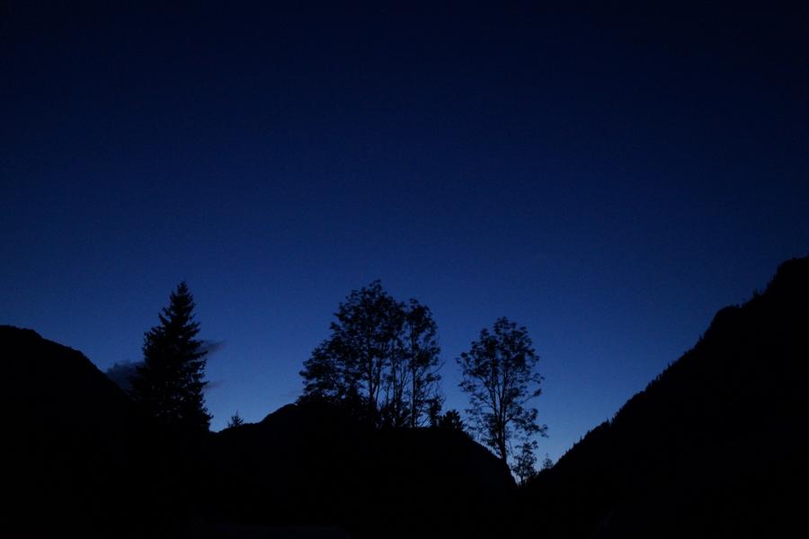 Abendhimmel in den Berchtesgadener Alpen | Outtakes – Monatsrückblick Juli & August 2019