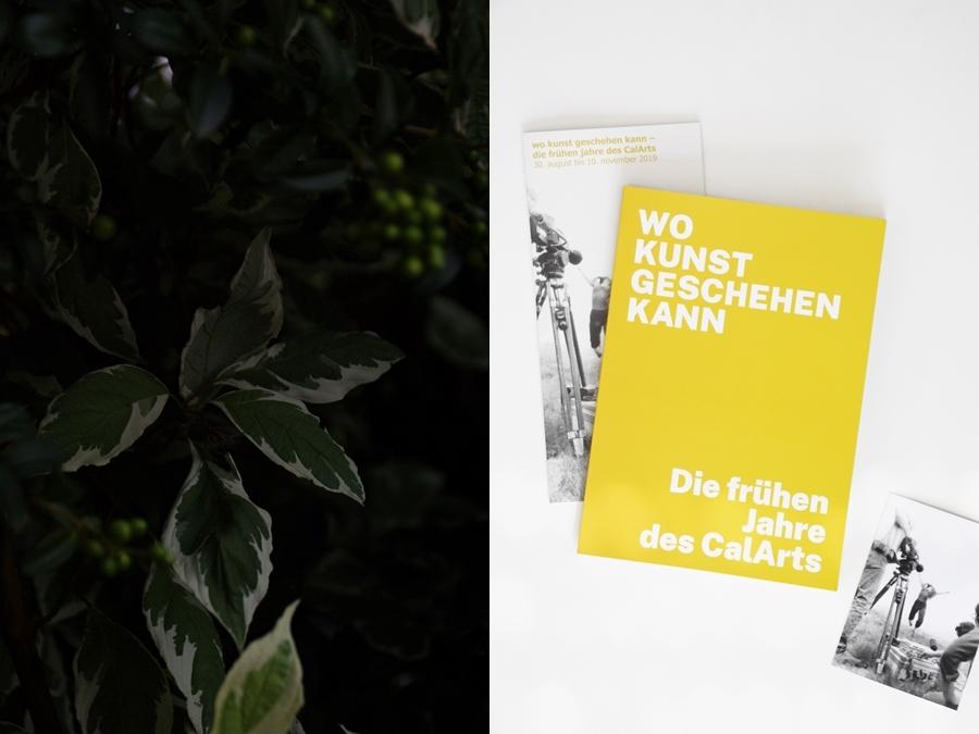 Kestnergesellschaft Hannover CalArts Ausstellung - September: 8 Dinge aus der vergangenen Woche.