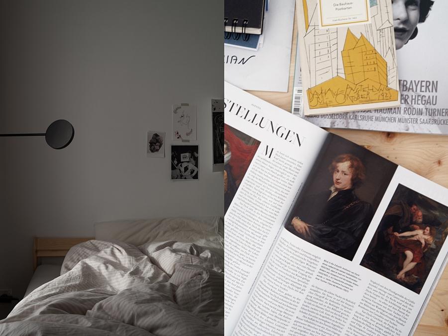 Schlafzimmer im Dezember | Kunst-Zeitschriften