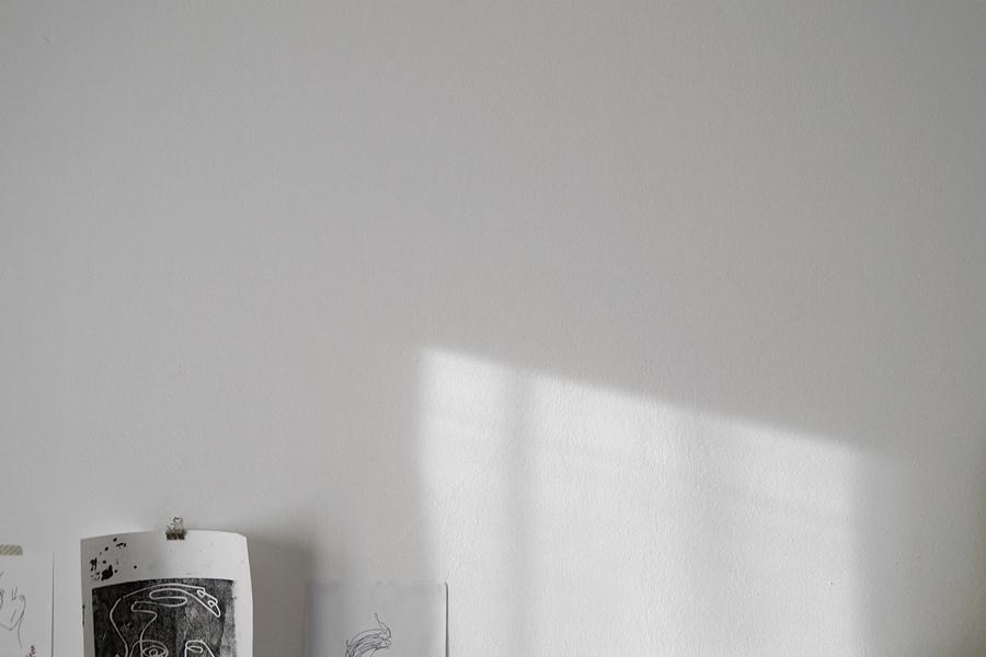 Wanddeko minimalistisch schwarz-weiß einrichten