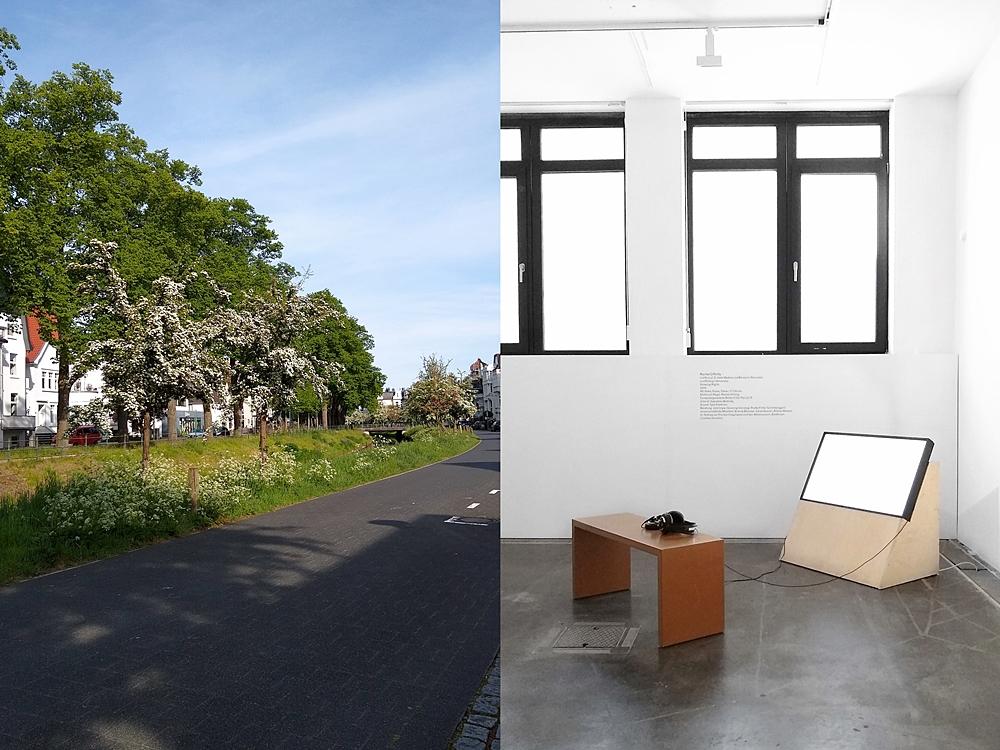 Frühsommer - Mein Wochenende in Bildern | Oldenburg: Haarenufer im Mai und Edith-Russ-Haus für Medienkunst.