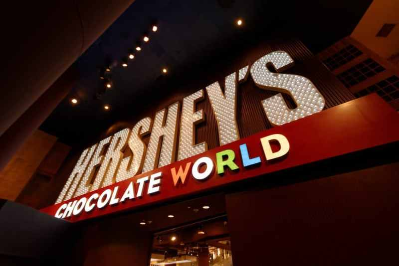 Hershey Chocolate World Vegas