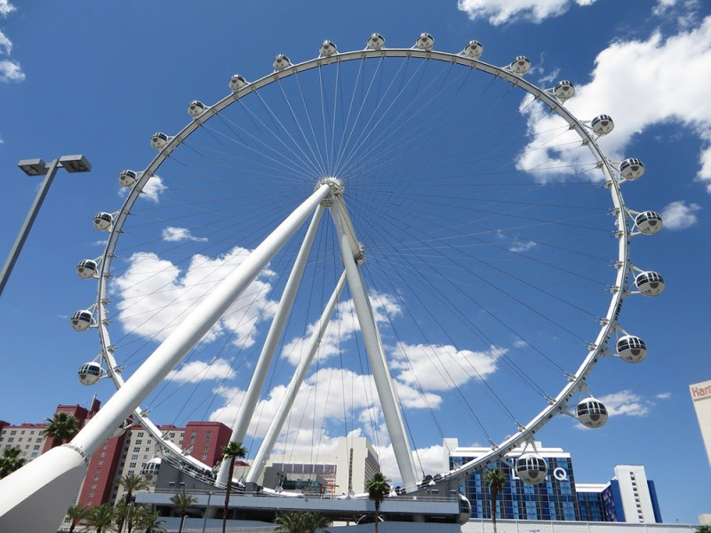 High Roller Farris Wheel In Las Vegas
