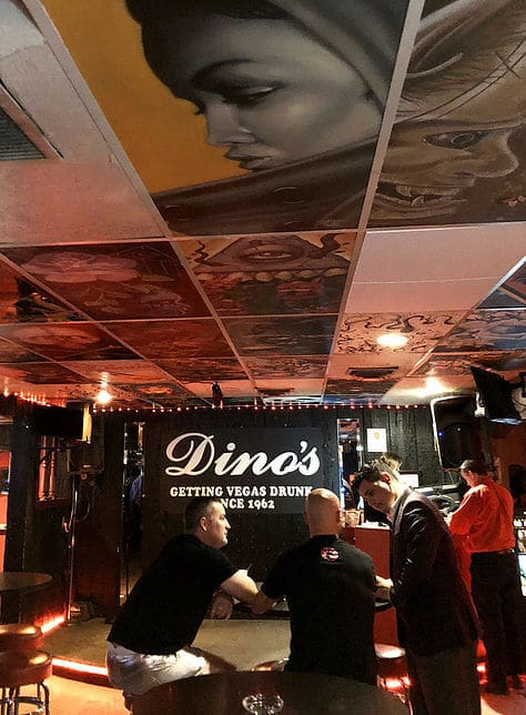 Things To Do Vegas Dinos Dive Bar