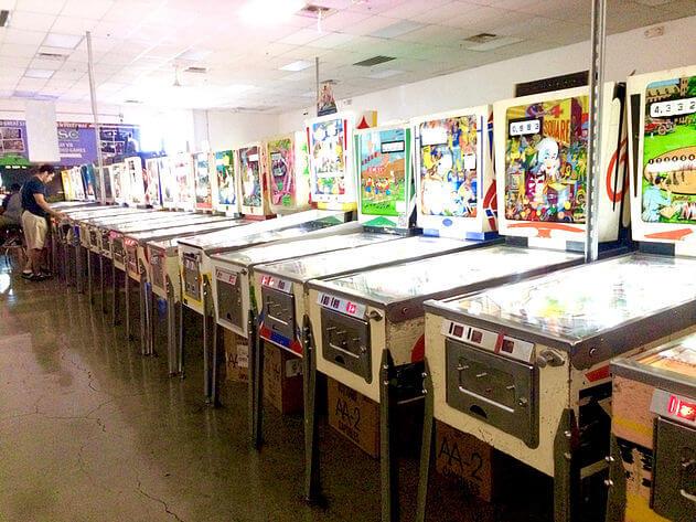 Vegas Activities Pinball Hall of Fame