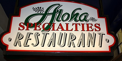 Aloha Specialties Logo