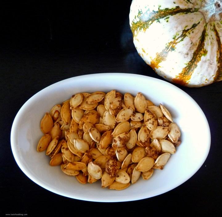 Post-Halloween Detox: Spice Roasted Pumpkin Seeds