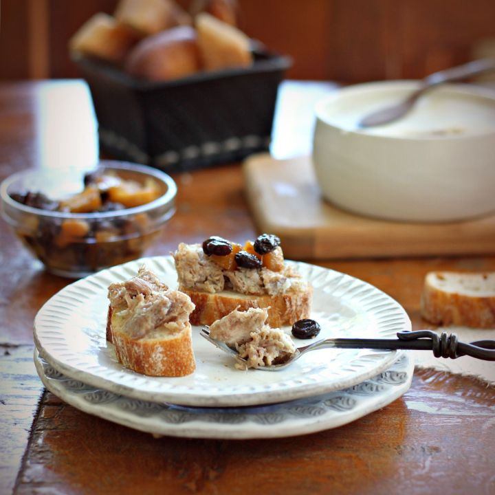 Pork Rillettes with Calvados and a recipe for Apple Prune Chutney