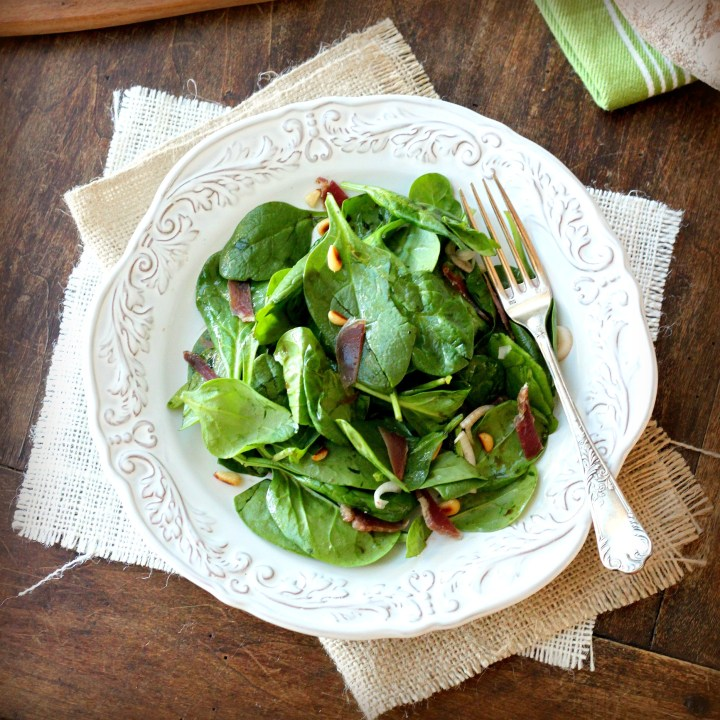 The Cure and a Recipe for Spinach Salad with Warm Balsamic Vinaigrette