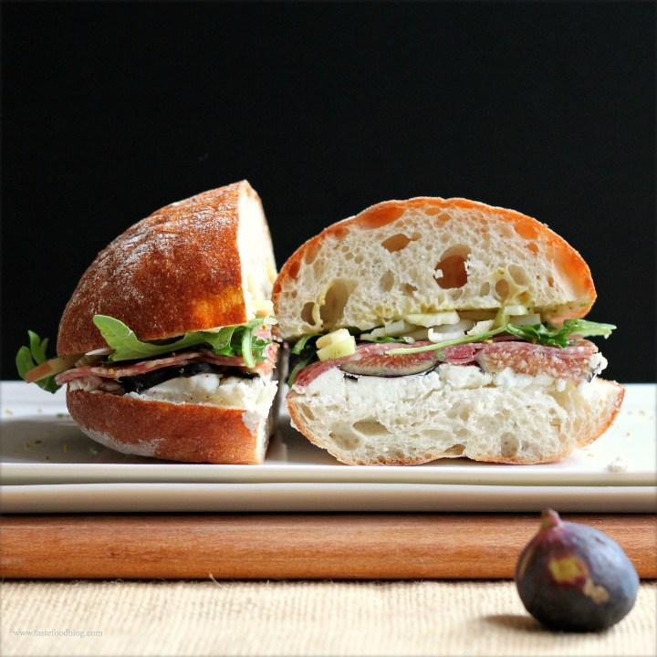 Salame, Figs, Fennel and a Sandwich Showdown